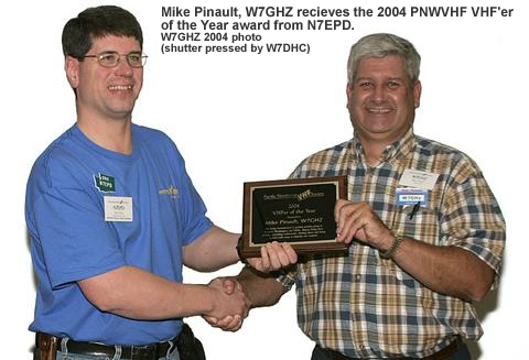 Mike Pinault, W7GHZ