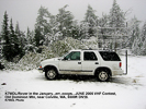 K7MDL in snow on Old Dominion Mtn near Colville, WA, DN18, June 2005 VHF Contest