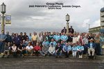 Group photo of 2005 Conference, Seaside, Oregon