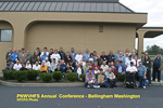 Group photo of 2006 Conference in Bellingham