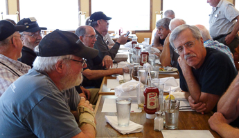Gathering at Parker's Steakhouse in Castle Rock on Aug 22, 2015