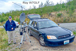 Ray W7GLF in the ARRL 10 GHz Contest